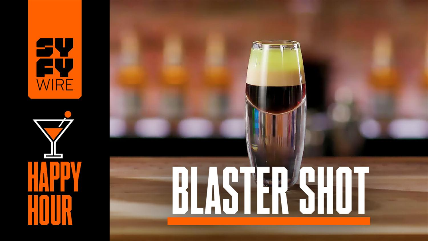 How To Make A Blaster Shot