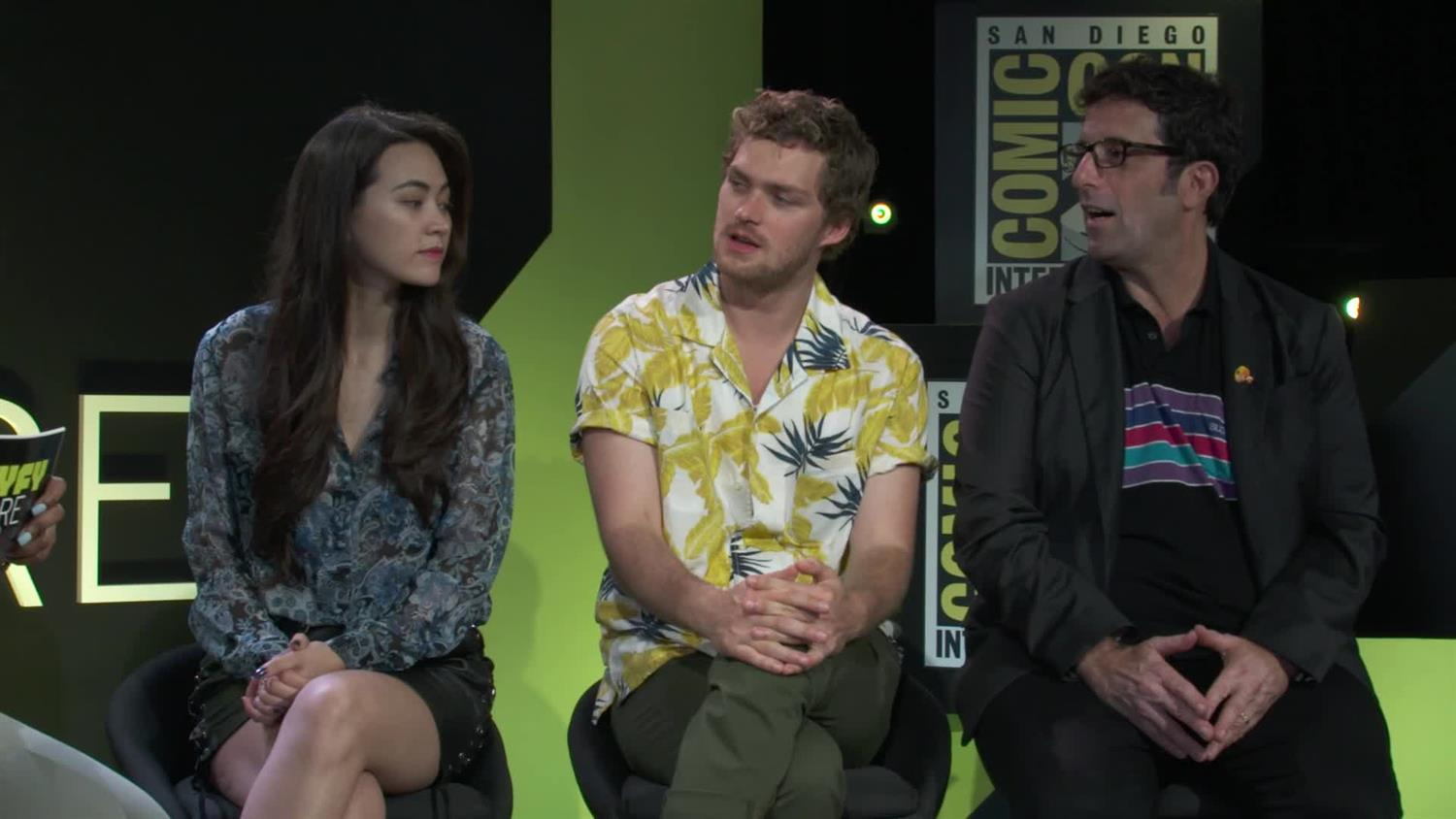 Iron Fist Cast Preview Season 2 Talk About Their Feet Syfy Wire