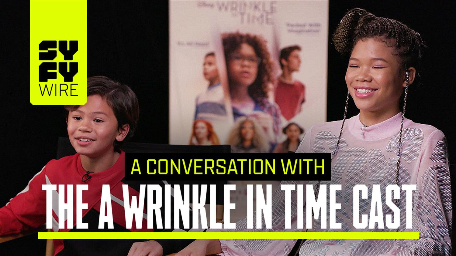 Oprah Gives The Best Hugs: The Wrinkle In Time Cast Speaks