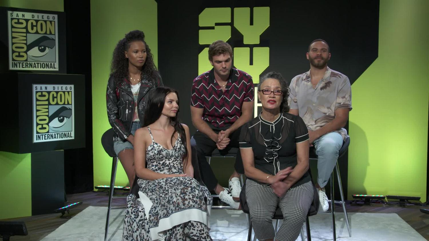 Siren Cast discusses Mermaid Sex and Season Two Expectations   SYFY WIRE