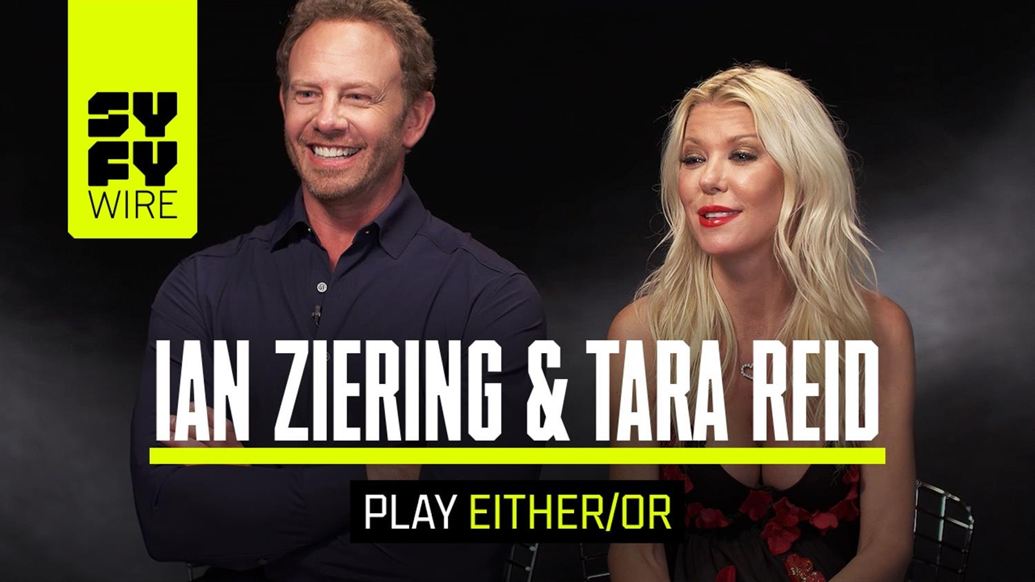 Ian Ziering and Tara Reid Play Either/Or (Including Sharknado vs. Meg)