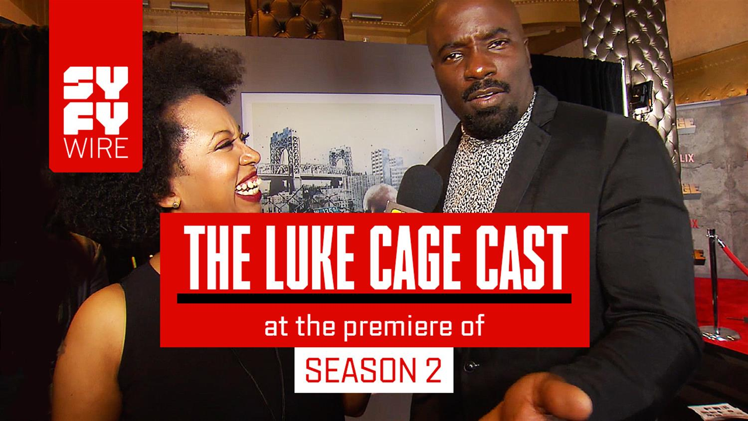 Luke Cage Red Carpet: Mike Colter and Cast Spill Season 2