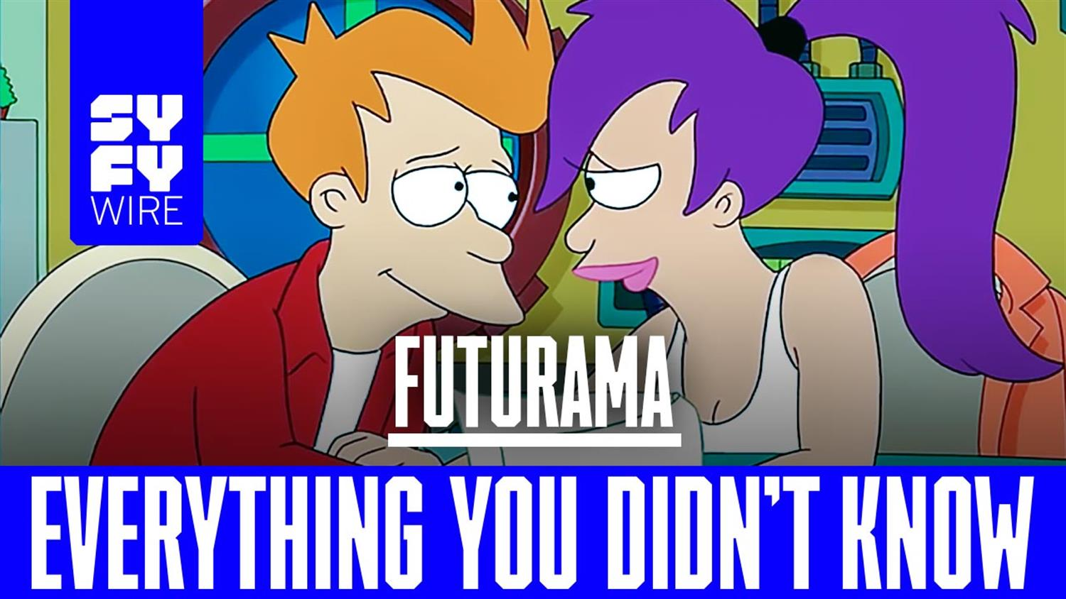 Futurama Was Born in 1939 (Everything You Didn't Know)