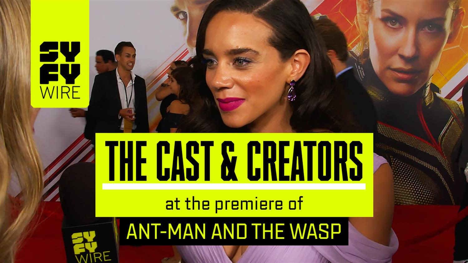 Ant-Man and the Wasp Red Carpet: Hannah John-Kamen and Cast Talk Refreshing Humor & Funniest Cast Member