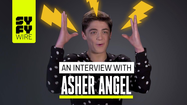 Shazam's Asher Angel Performs Magic Tricks