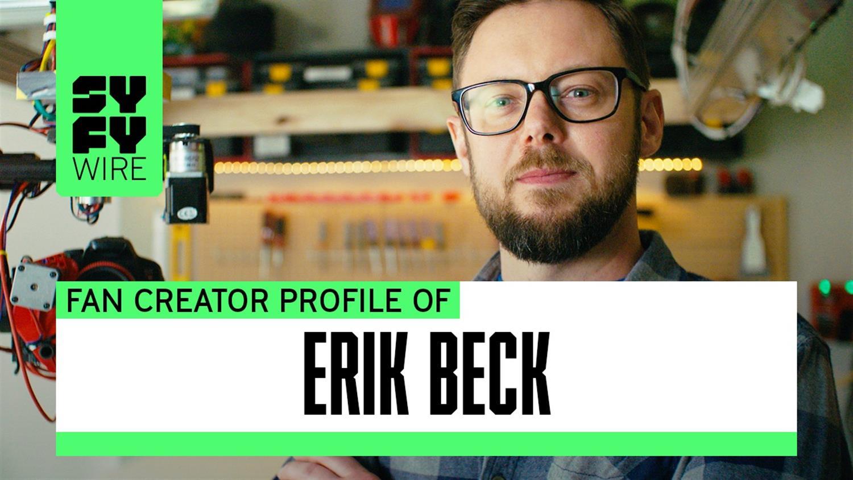 Making a 400 MPH Punching Machine: Erik Beck's Story (SYFY WIRE Fan Creators)