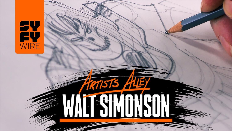 Watch Walt Simonson Sketch Thor
