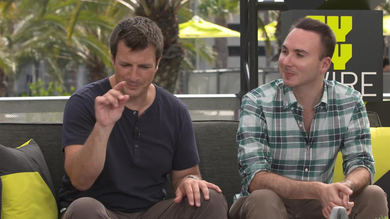 Nathan Fillion and Allan Ungar on the Success of Uncharted Fan Film | SYFY WIRE