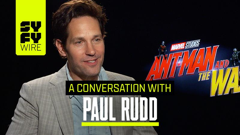 Paul Rudd on Ant-Man and the Wasp: on Working with Michelle Pfeiffer & Avengers 4