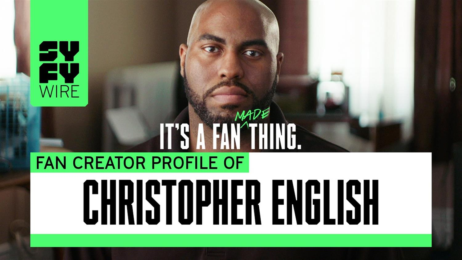 Cosplay IS Community Service: Christopher English's Story (SYFY WIRE Fan Creators)