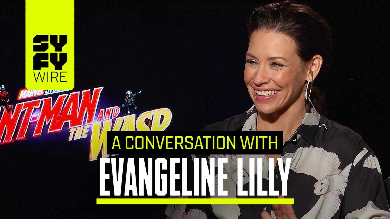 Evangeline Lilly on Ant-Man and the Wasp: Wasp's Costume Design & Working With Michelle Pfeiffer