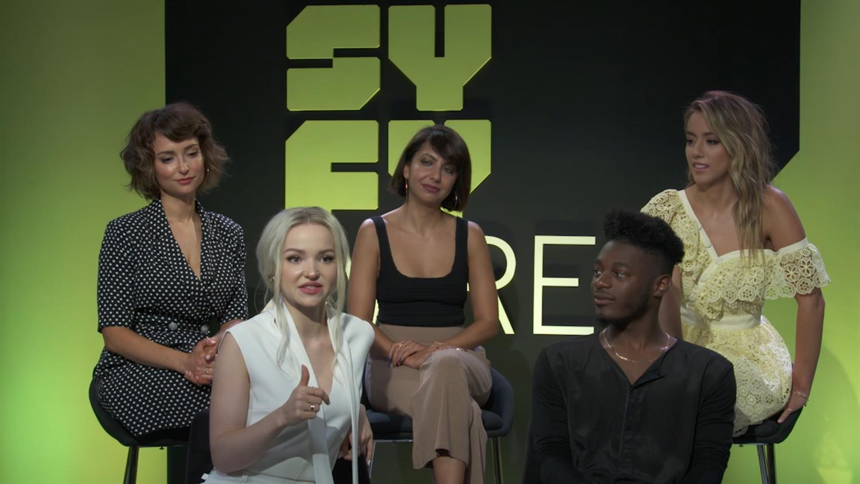 Marvel Rising: Secret Warriors Cast on Fandom, Playing Superheroes and Santa Mugs | SYFY WIRE