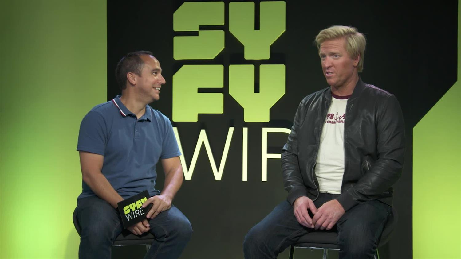 Jake Busey on The Predator & Marvel's Agents of S.H.I.E.L.D.Roles | SYFY WIRE