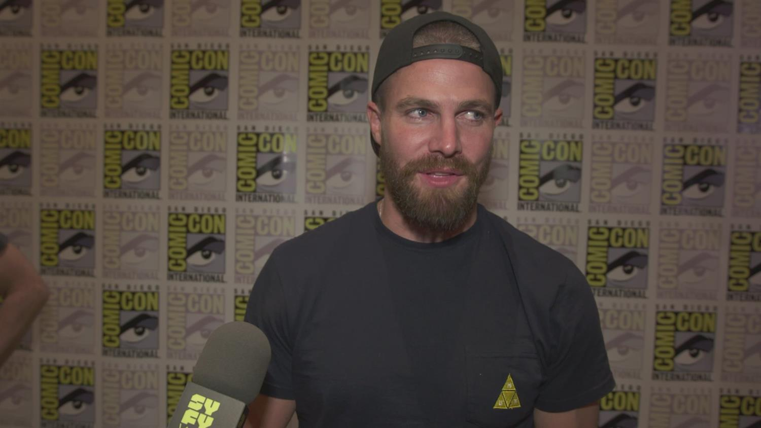 Arrow Cast On Season 7, Batwoman and More | SYFY WIRE