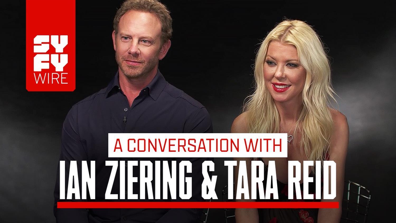 Sharknado Is Ending?! Tara Reid and Ian Ziering Speak