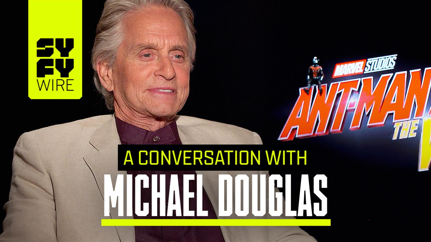 Michael Douglas on Ant-Man and the Wasp: the Fandom of the MCU & Working on Green Screen