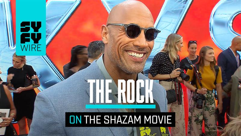 The Rock Addresses If He's In the Shazam Movie