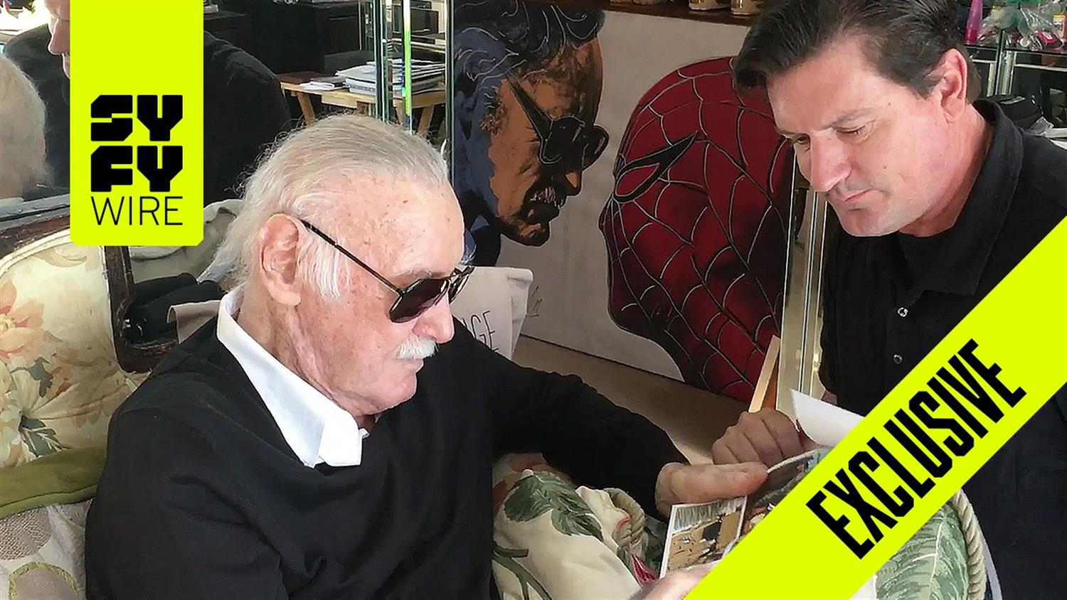 Exclusive: Stan Lee's Work Force