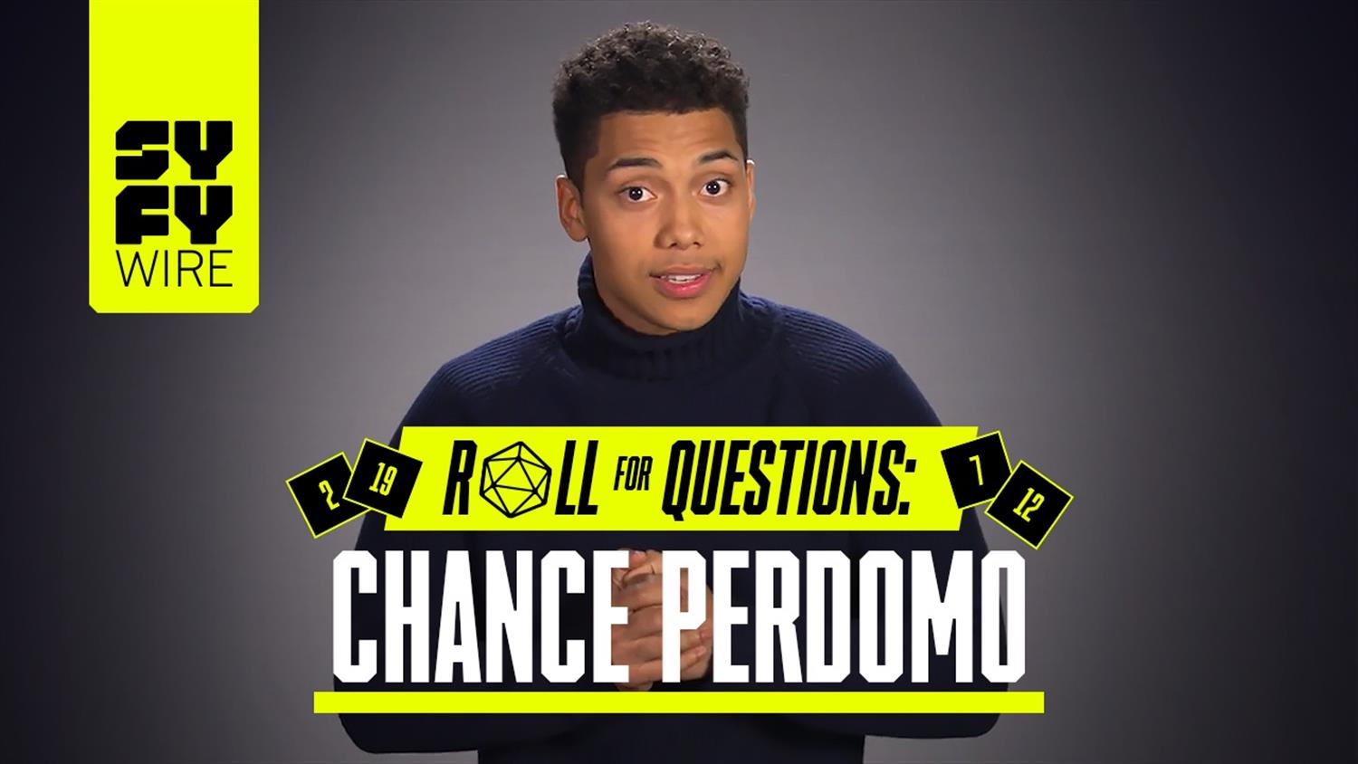 Sabrina's Chance Perdomo Wants To Raise The Dead (Roll For Questions)
