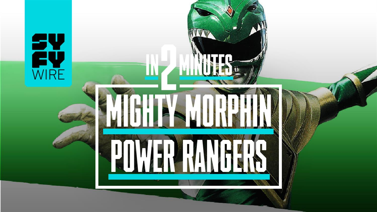 Mighty Morphin Power Rangers In 2 Minutes