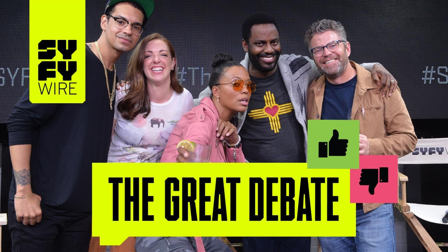 The Great Debate Hosted By Aisha Tyler
