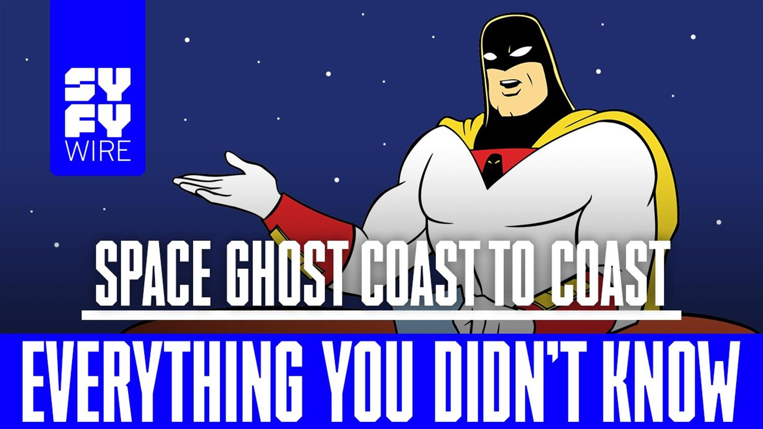 Space Ghost Coast to Coast: Everything You Didn't Know