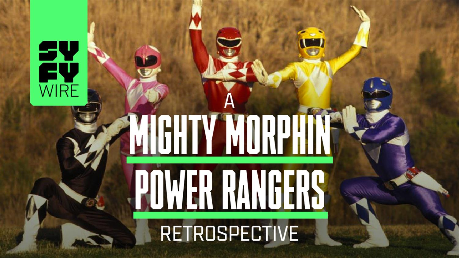 Mighty Morphin Power Rangers At 25 (A Look Back)