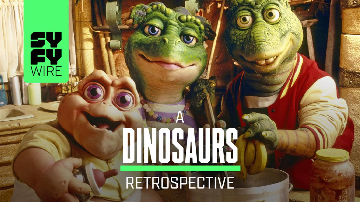 Dinosaurs: The Most Insane Sitcom Ever? (A Look Back)