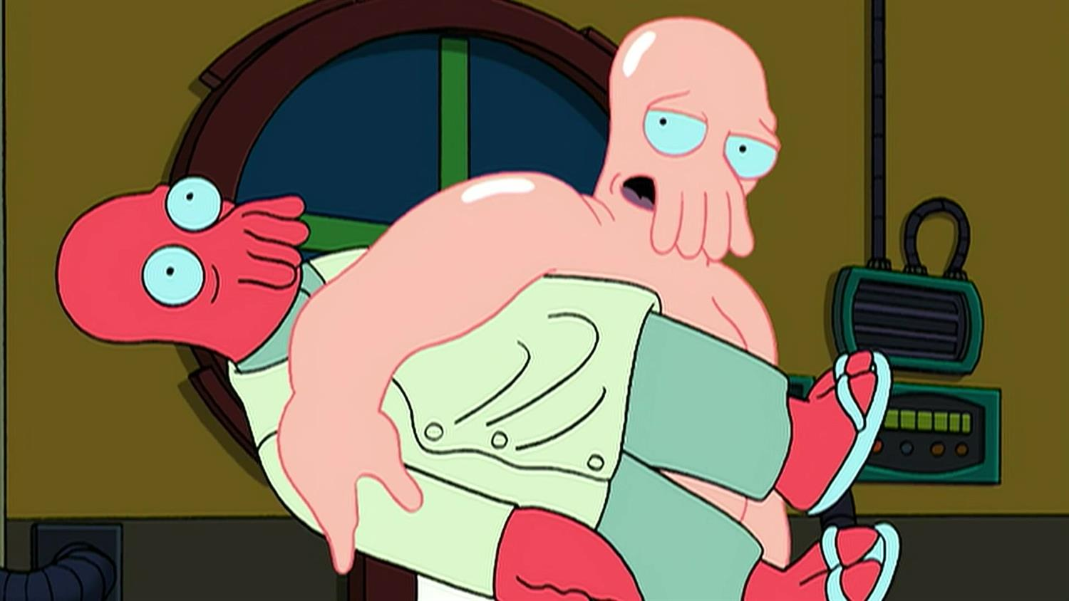 Zoidberg Out of His Shell