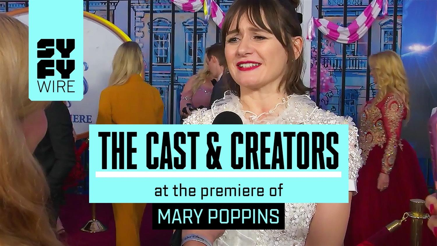 Mary Poppins Returns Supercalifragilistic Red Carpet