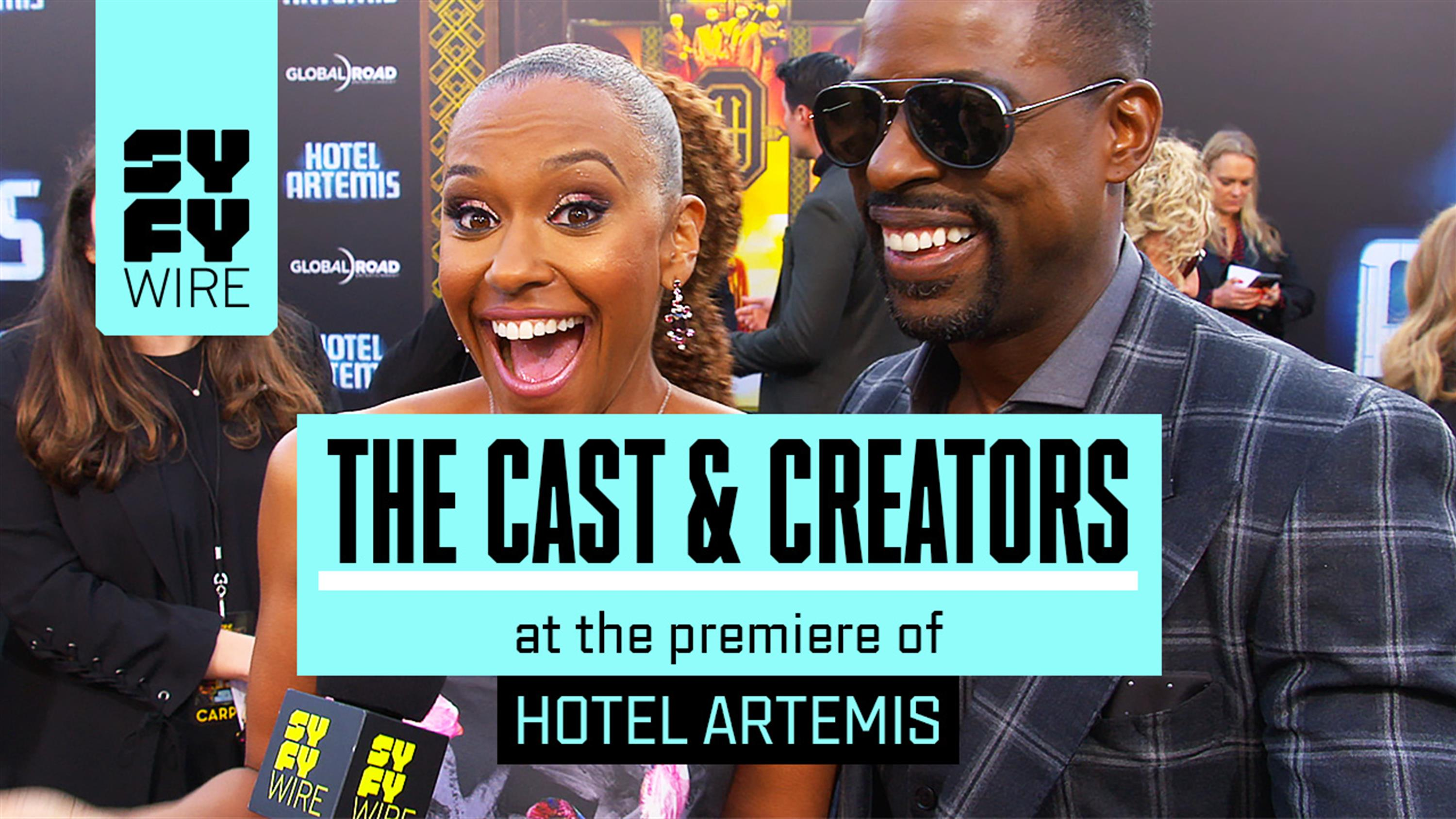 Hotel Artemis Red Carpet: Jodie Foster Predicts The Future – – Watch ...