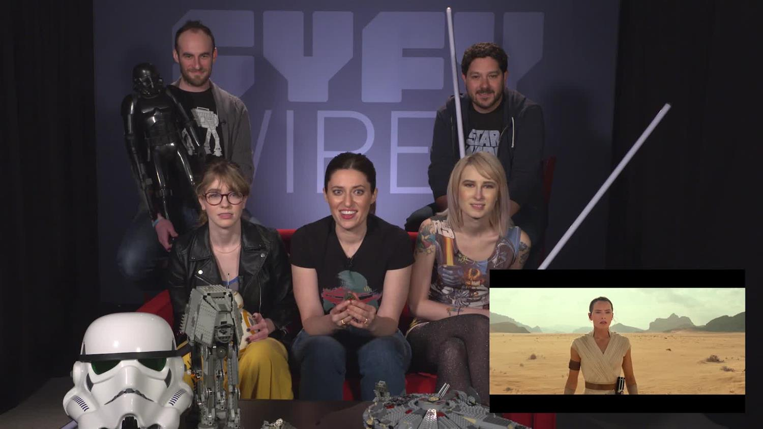 SYFY WIRE Reacts To Star Wars: Episode IX - The Rise of Skywalker Trailer