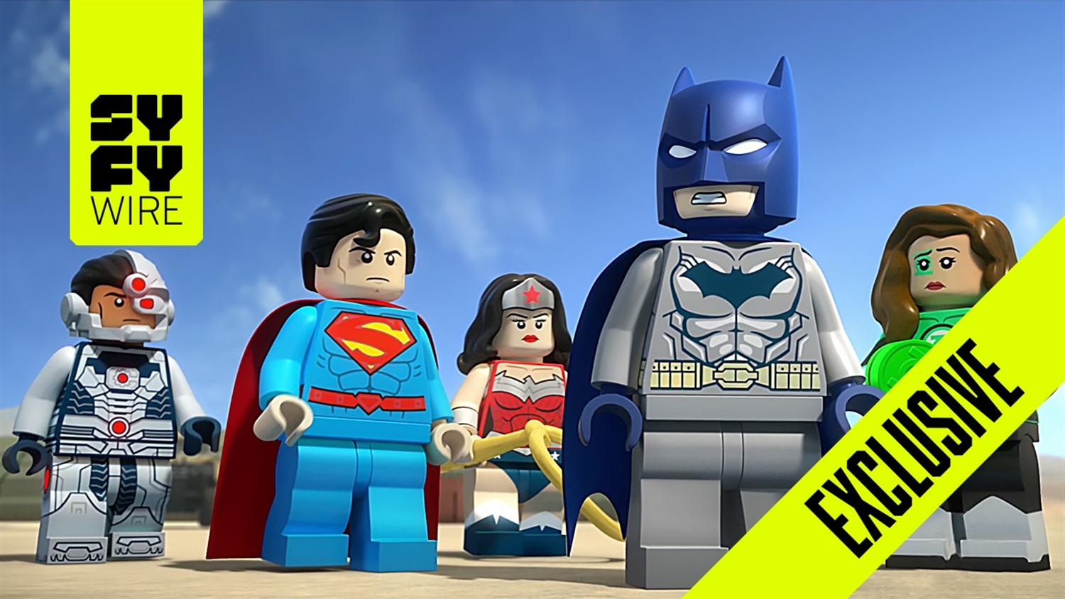 Exclusive Sneak Peek: LEGO DC Comics Super Heroes - Aquaman: Rage of Atlantis
