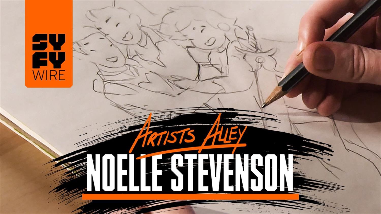 She-Ra Creator Noelle Stevenson Draws Characters & Previews Season 2