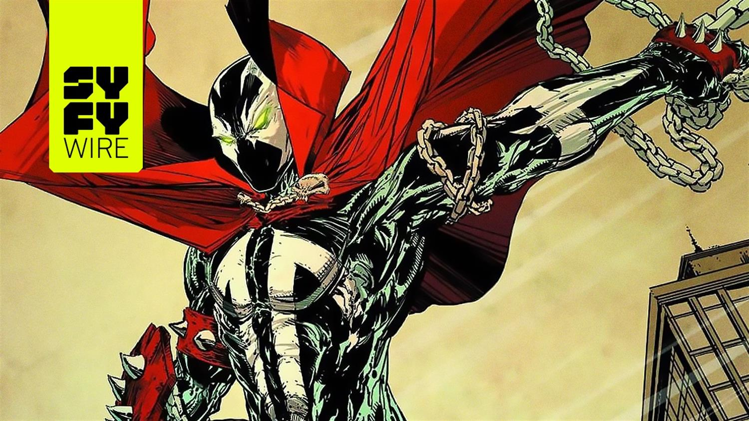 Todd McFarlane Previews His New Spawn Movie