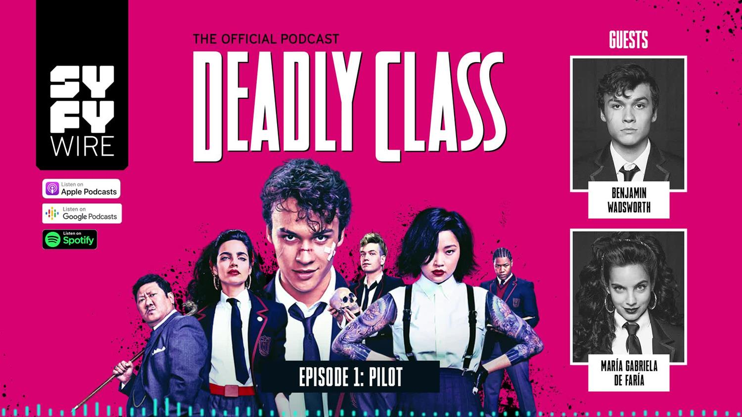 Deadly Class - Official Podcast Episode 1