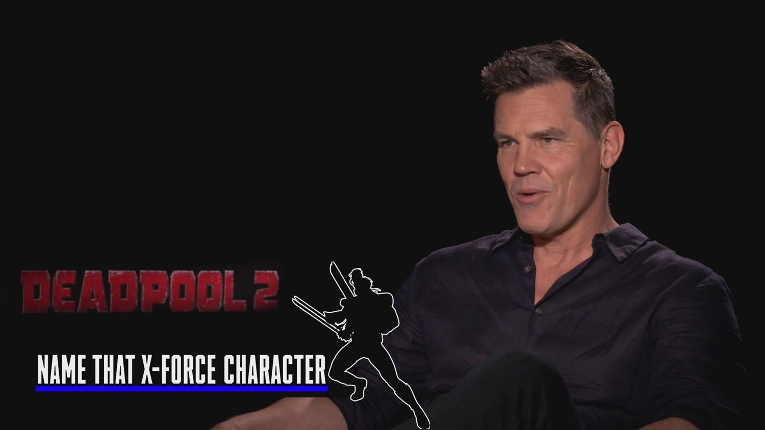 Deadpool 2 Cast Plays Guess The X-Force Member