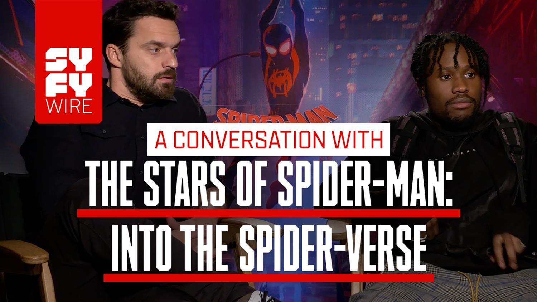 Having a Spider-Ham Is Wild! Jake Johnson And Shameik Moore Enter The Spider-Verse