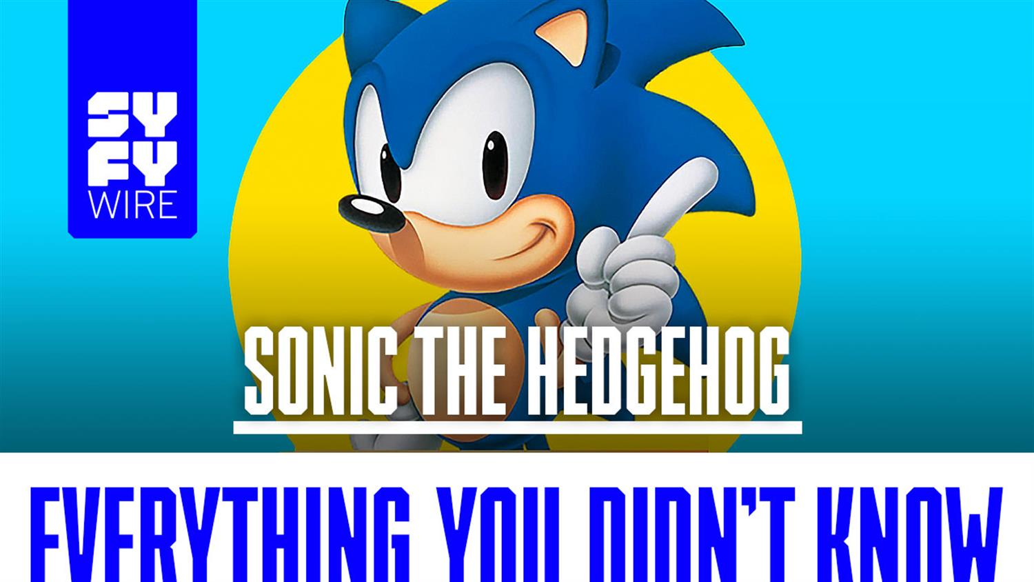 Sonic the Hedgehog TV Show: Everything You Didn't Know