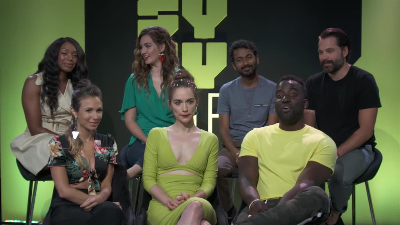 The Wire Cast Season 4 | Wynonna Earp Cast Talk Fans Season 4 And Earper Cosplay Syfy Wire