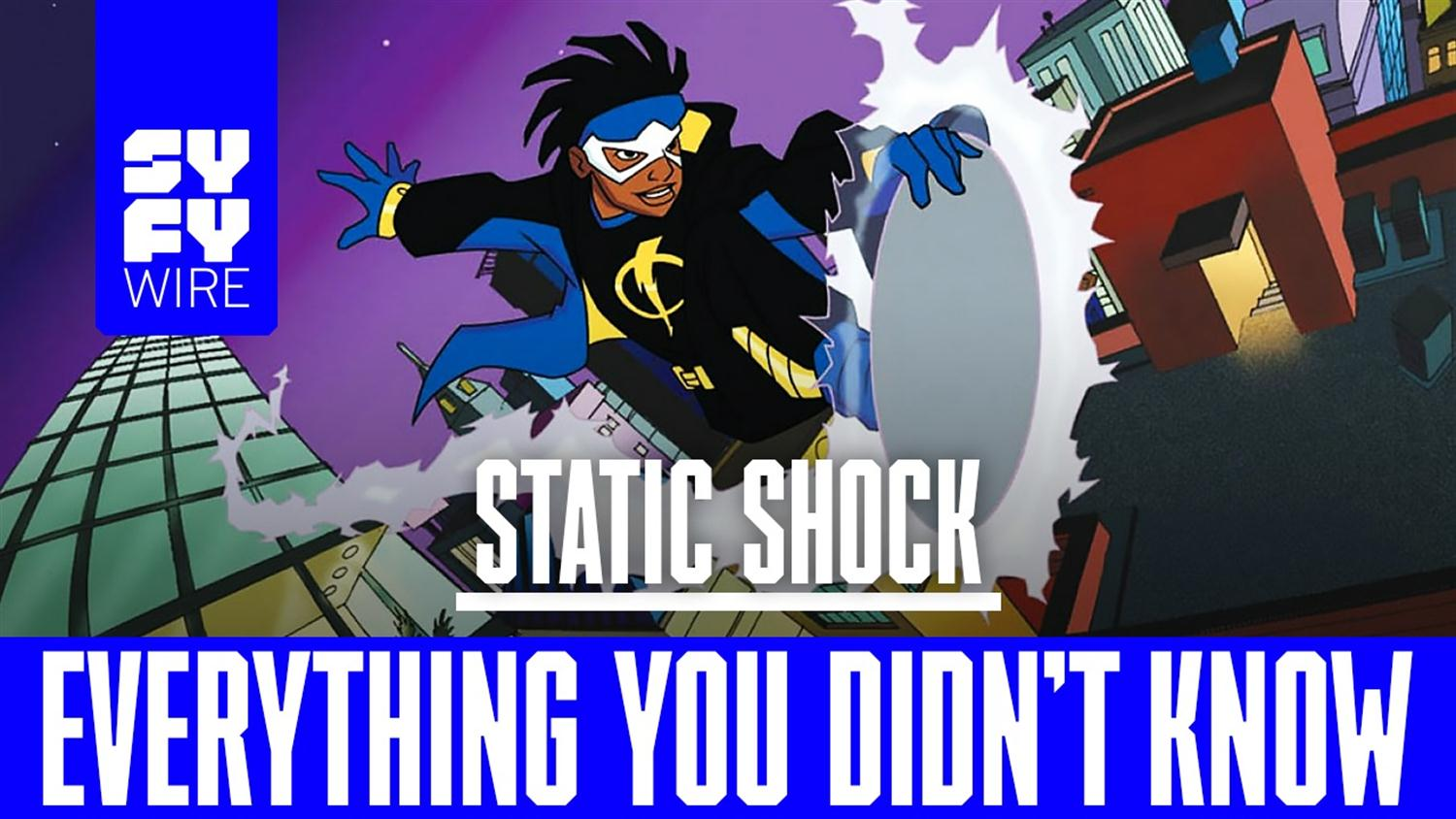 Static Shock: Everything You Didn't Know