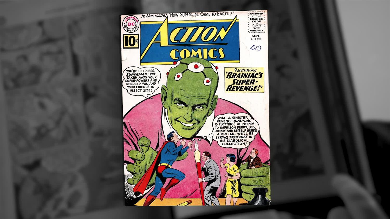 Discovering Krypton - Becoming Brainiac