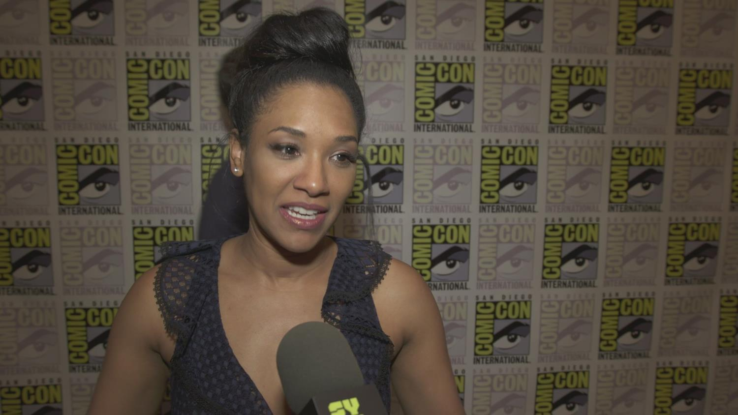 The Flash Cast On Barry and Iris' Kid and Other Season 5 Previews | SYFY WIRE
